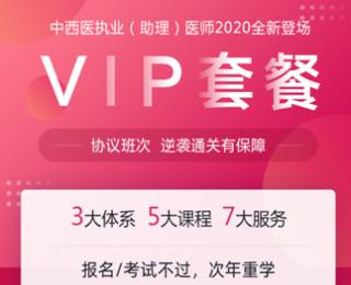2020年VIP套餐-环球网校中西医结合执业医师课程辅导方案