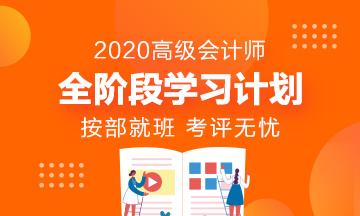 20年高快精品课程-中华会计网高级会计师辅导方案