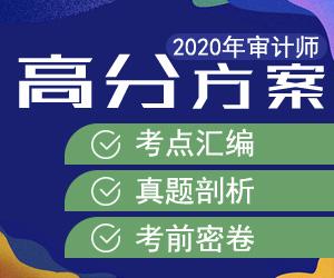 20年审计师辅导方案-2020年中华会计网审计师ope体育网站辅导方案