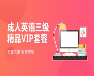 20年VIP精品套餐-环球网校成人英语三级课程辅导